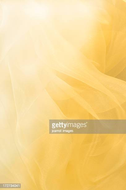 Flowing Yellow Abstract Background