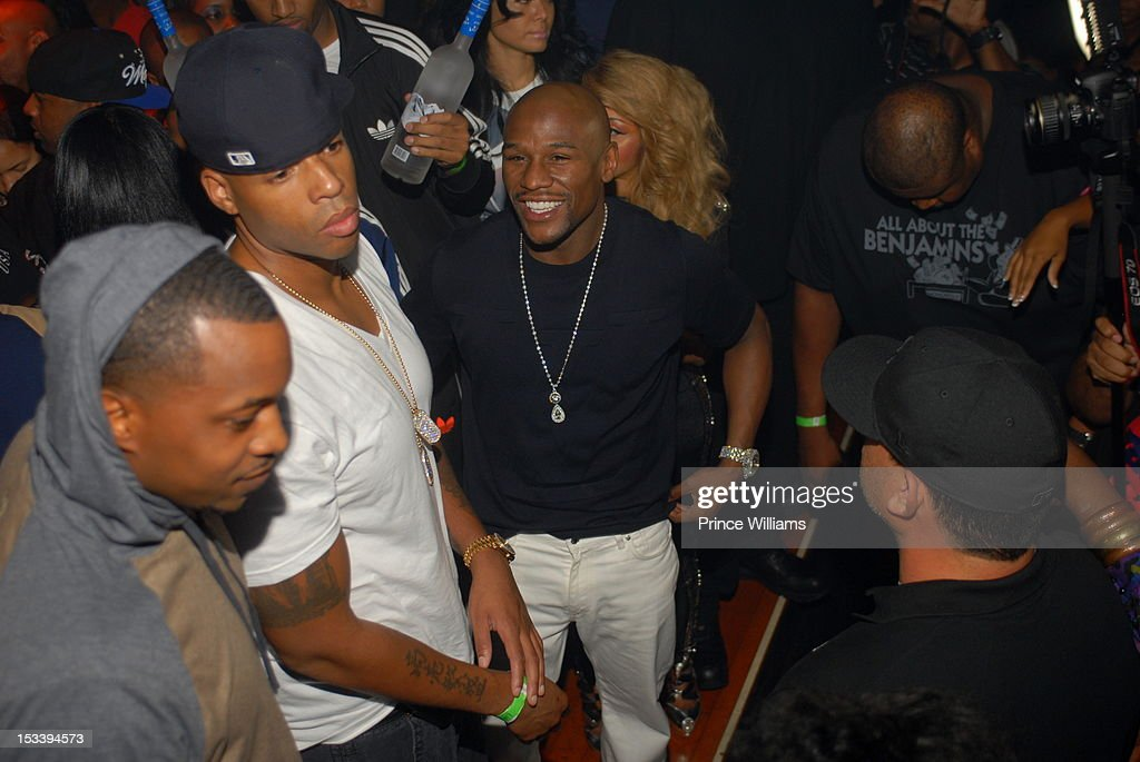 Floyd Mayweather attends a party hosted by Gucci and Floyd Mayweather at Life Nightclub on September 29, 2012 in Atlanta, Georgia.