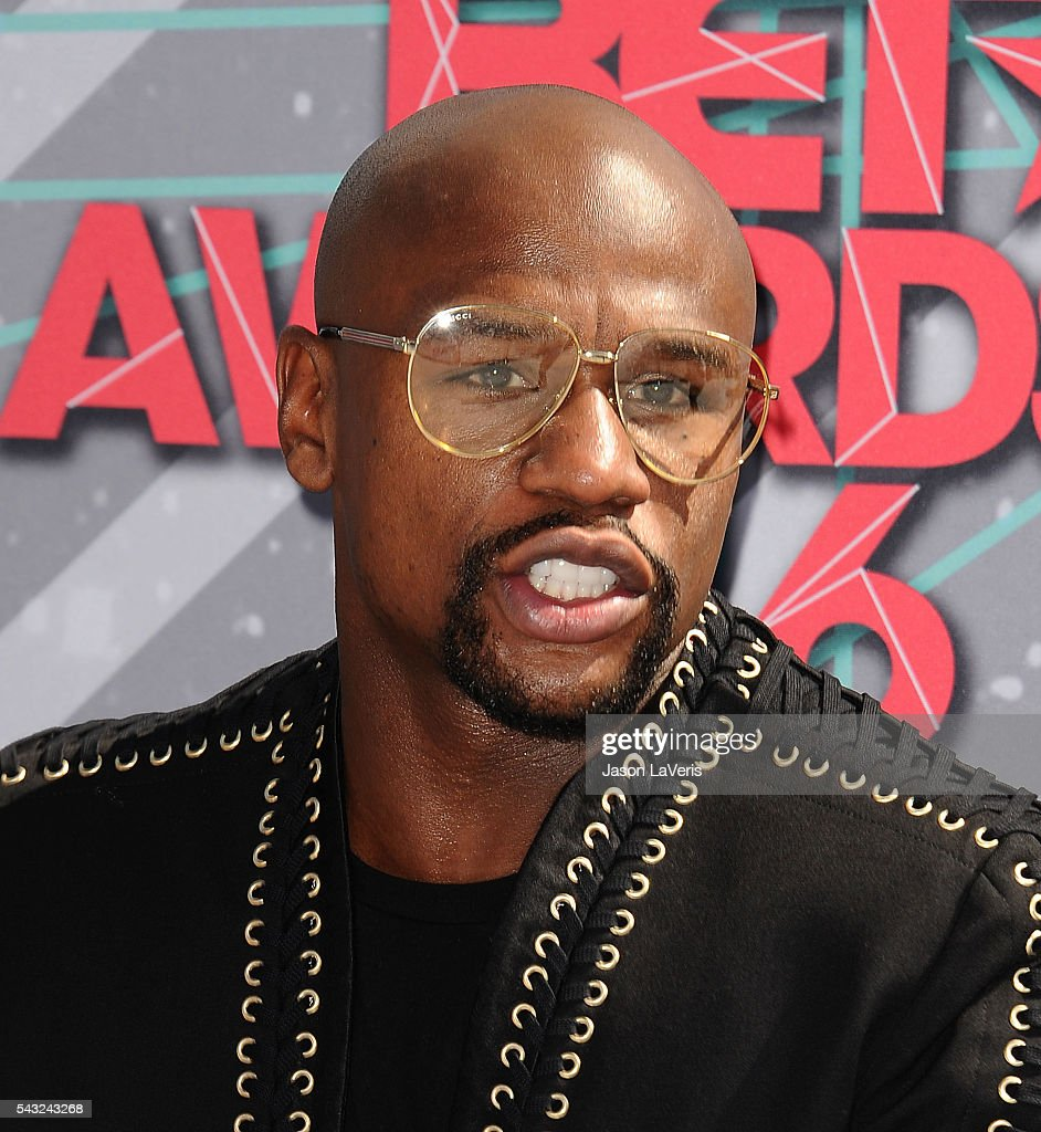 Floyd Mayweather attends the 2016 BET Awards at Microsoft Theater on June 26, 2016 in Los Angeles, California.