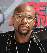 Floyd Mayweather attends the 2016 BET Awards at Microsoft Theater on June 26 2016 in Los Angeles California
