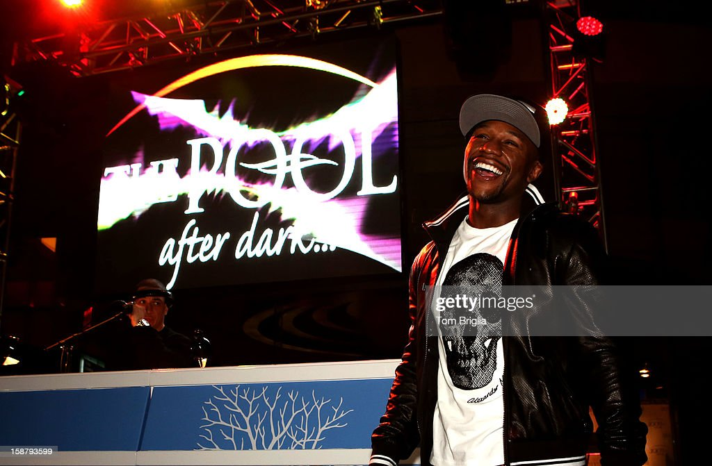 Floyd Mayweather hosts The Pool After Dark at Harrah's Resort on Friday December 28, 2012 in Atlantic City, New Jersey.