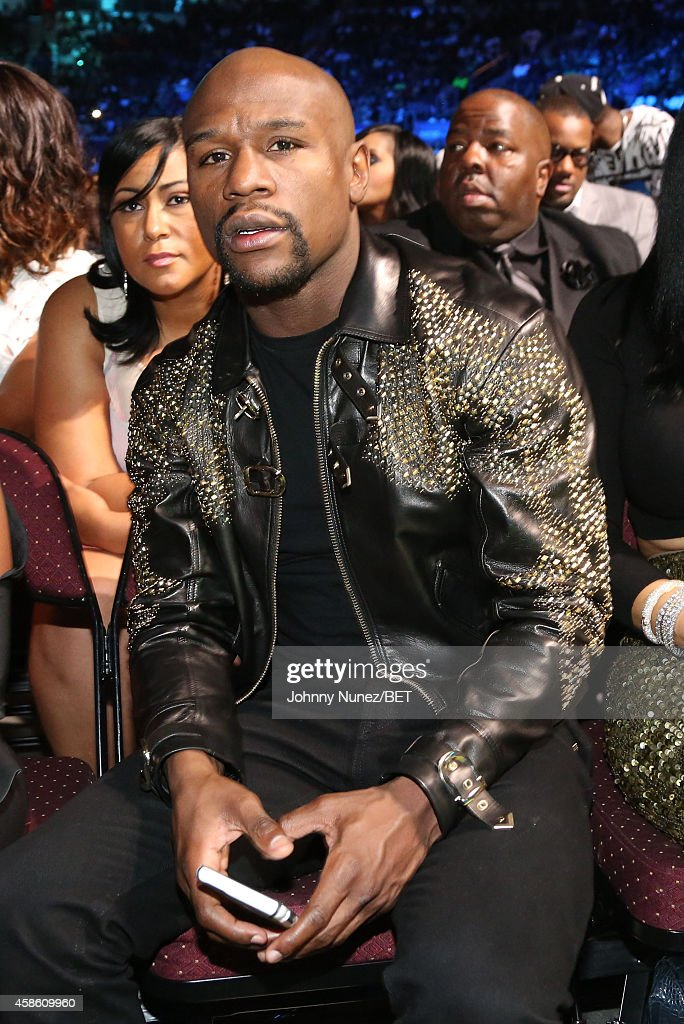 Floyd Mayweather Jr. attends Centric Presents: The 2014 Soul Train Awards on November 7, 2014 in Las Vegas, Nevada.