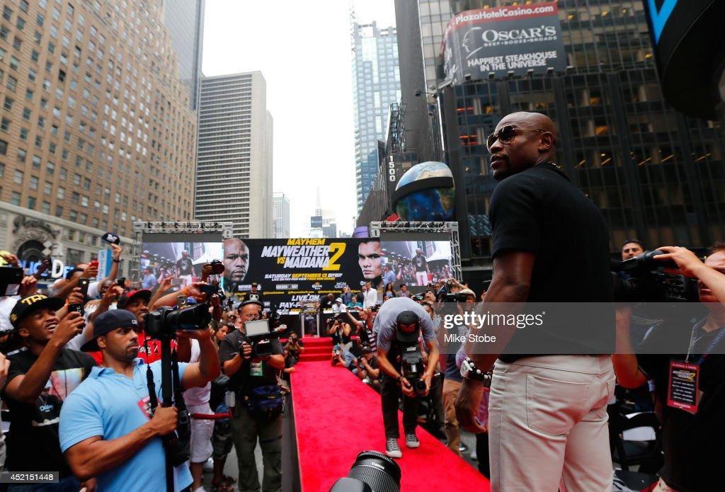 Floyd Mayweather Jr. v Marcos Maidana - Press Tour