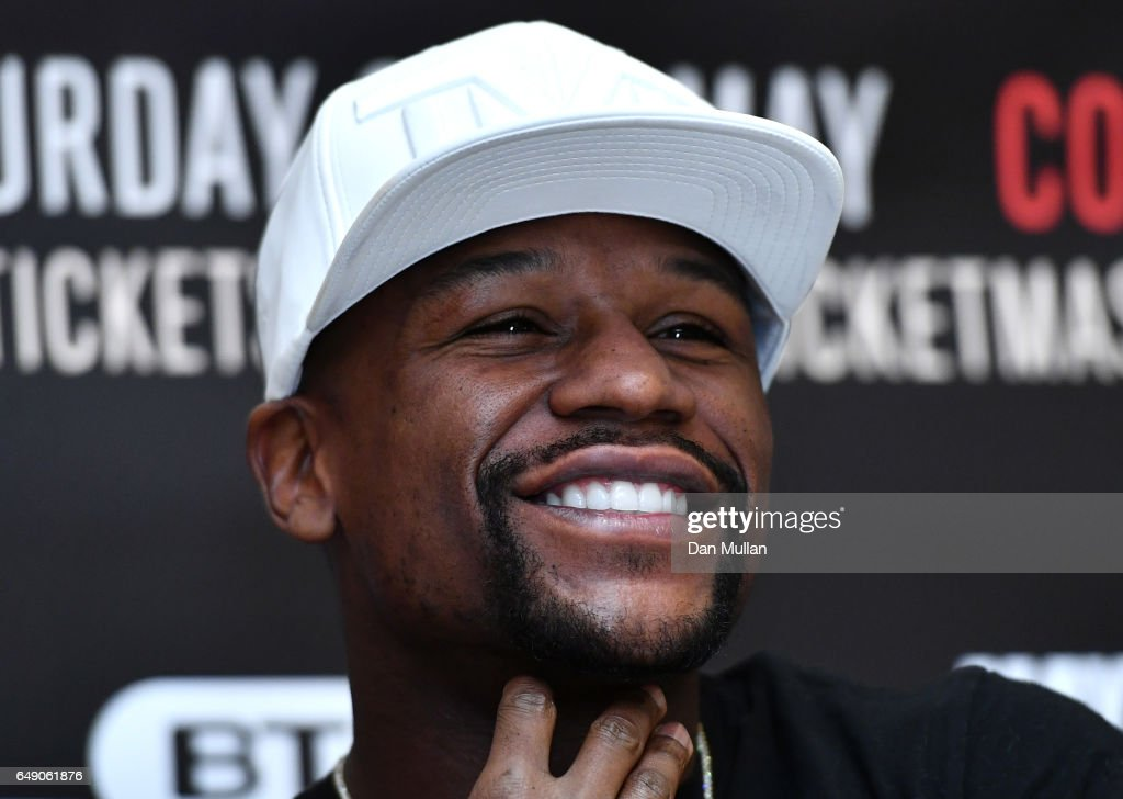 Frank Warren and Floyd Mayweather JR Press Conference