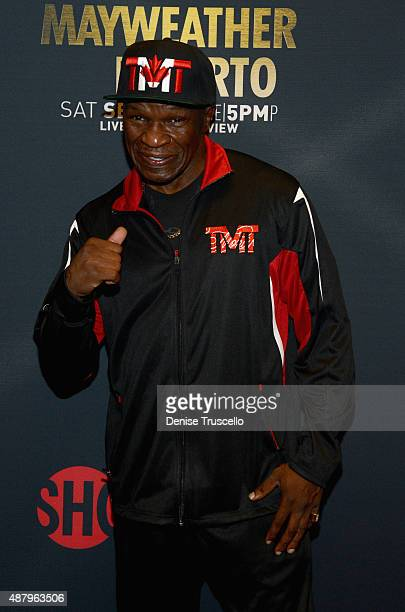 Floyd Mayweather Sr attends the VIP PreFight Party for 'High Stakes Mayweather v Berto' presented by Showtime at MGM Grand Garden Arena on September...