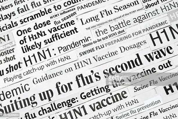 H1N1 flu headlines (pandemic and vaccine) - I