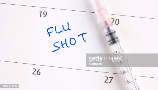 Flu shot appointment