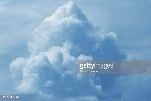 Fluffy clouds : Foto stock