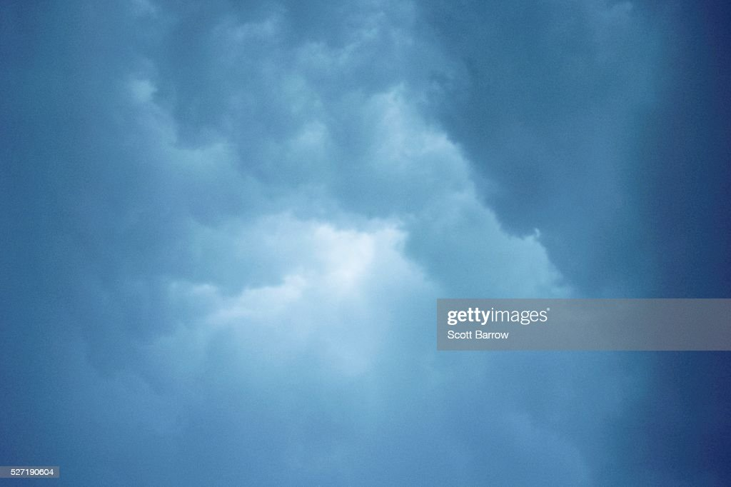 Fluffy clouds : Foto de stock