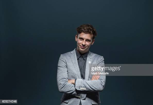 Flume poses for a portrait after winning ARIA awards for Best Independent Release Best Pop Release Best Dance Release Best Male Artist and Telstra...