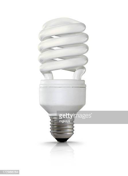 Kompakte fluoreszierend Glühbirne
