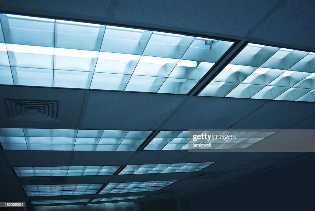 office ceiling florescent lights