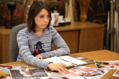 RECREATION 'Fluoride' Episode 608 Pictured Aubrey Plaza as April Ludgate