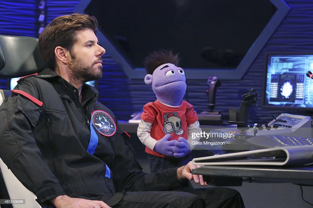 CRASH & BERNSTEIN - 'Flushed in Spaced' - Crash talks his way onto a space shuttle launch into space. During the flight, Crash accidentally flushes himself out of the shuttle and into space, and Wyatt jumps into action to save Crash. This episode of 'Crash & Bernstein' will air Monday, July 28 (7:30 PM - 8:00 PM ET/PT), on Disney XD.