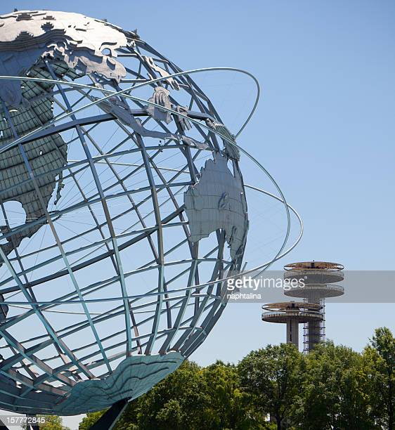 Flushing Meadows Unisphere and Corona Park
