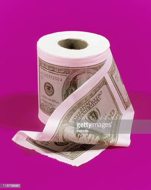 flushing money down the drain