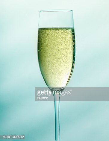 Flute of Champagne : Stock Photo