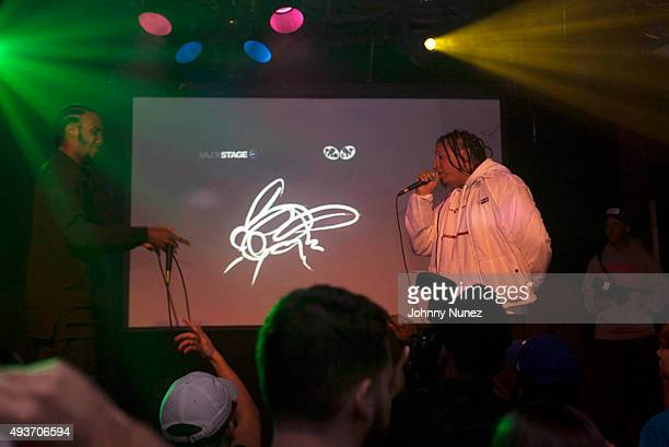 CJ Fly and Dirty Sanchez perform at Santos Party House on October 21 in New York City
