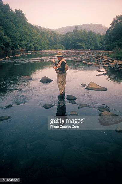 Tim mchenry stock photos and pictures getty images for Youghiogheny river fishing