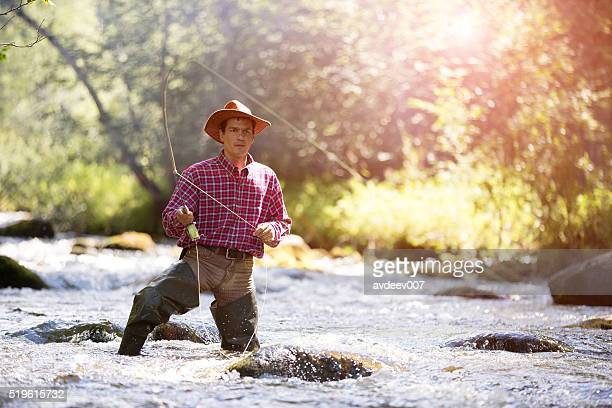 Fly fisherman