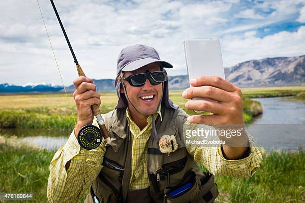 Fly Fisherman Selfie