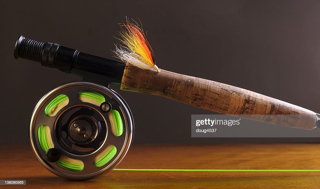 Fly Fishing Equipment Stock Photo Getty Images