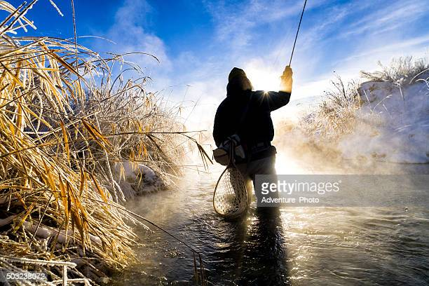 Fly Fishing in Extreme Cold Winter Conditions