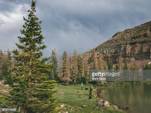 fly fishing in the High Uintas