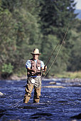Fly Fishing in the Santiam River