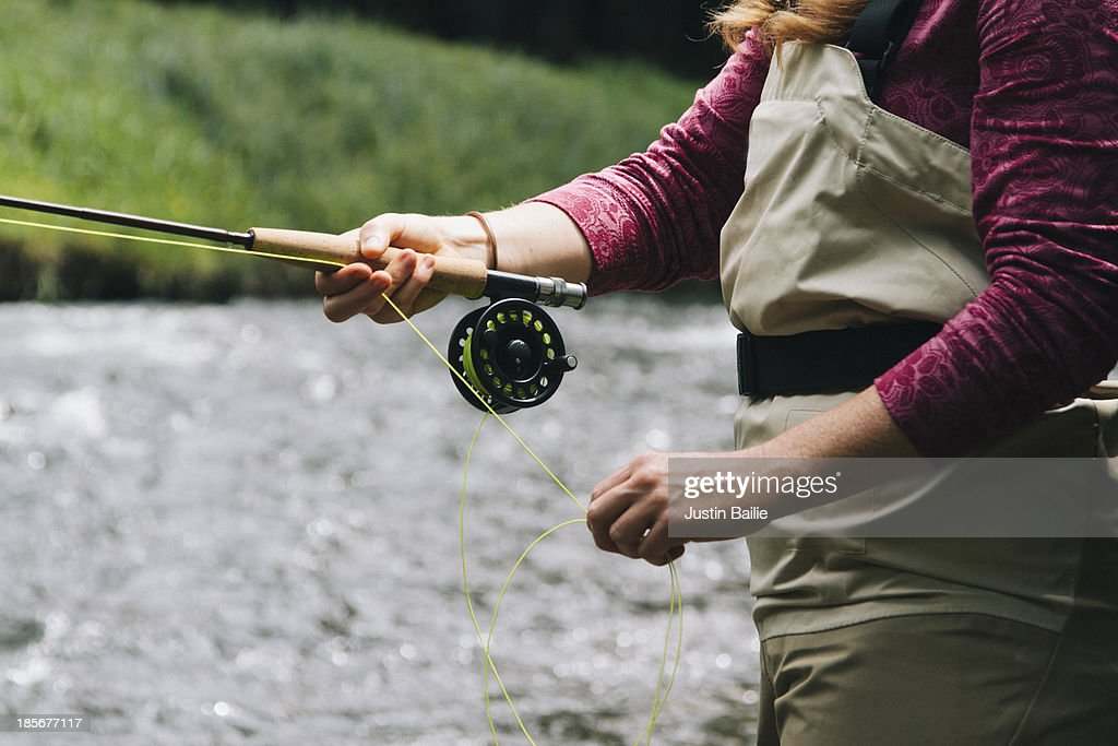 Fly fishing Oregon.