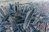 Fly over Shanghai