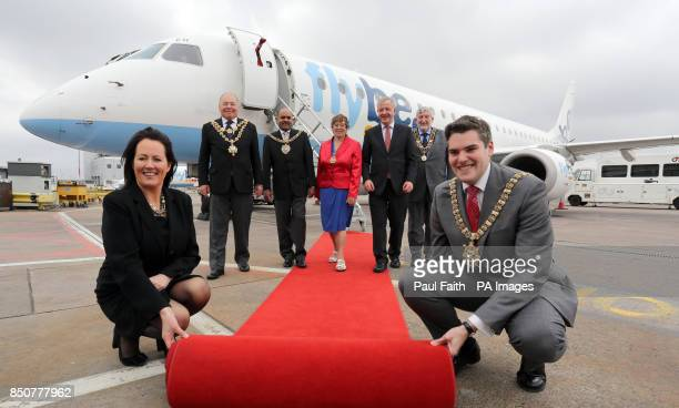 Flybe marks 30 years of operations in Northern Ireland by flying in dignitaries from five key destinations for a special visit arriving at George...
