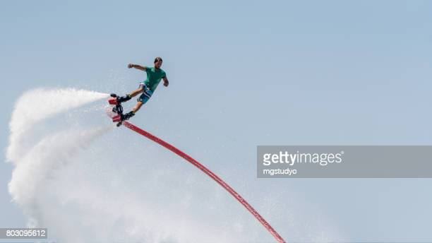 Flyboard extreme sport adventure