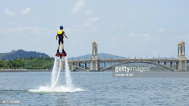 Flyboarding at Marina Putrajaya