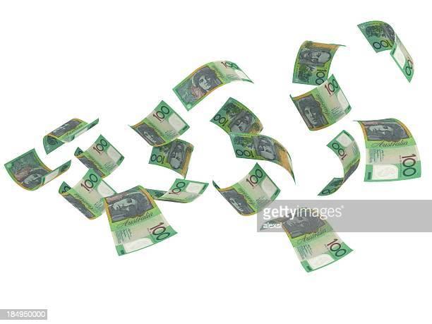 Flying Australian Currency