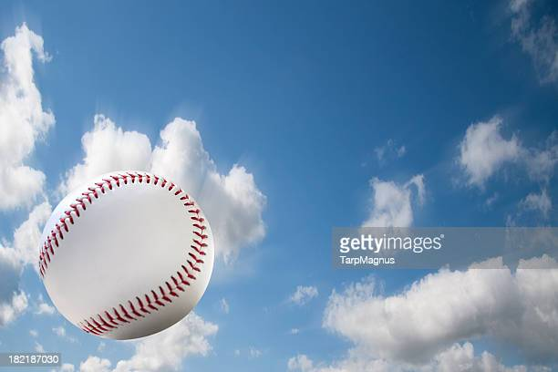 Flying baseball