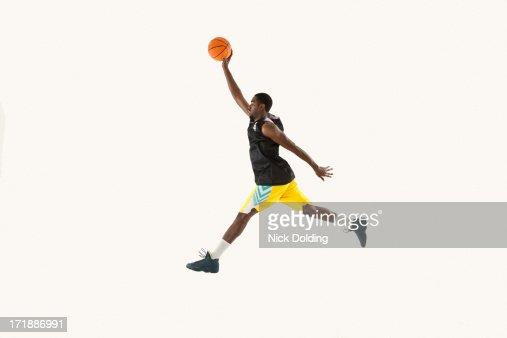 Flying Basketball Player 01