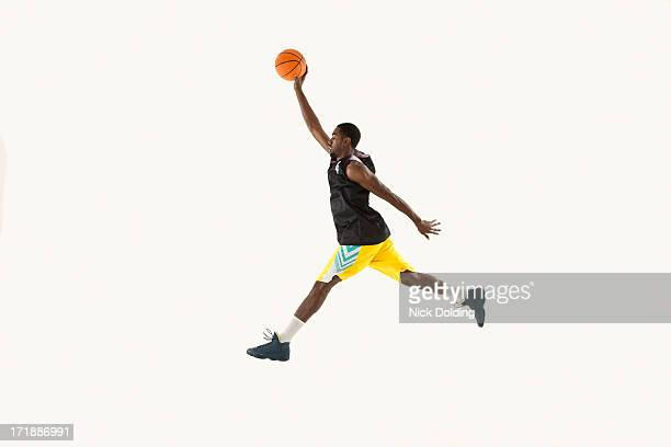 Flying Basketball Player 01