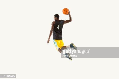 Flying Basketball Player 05