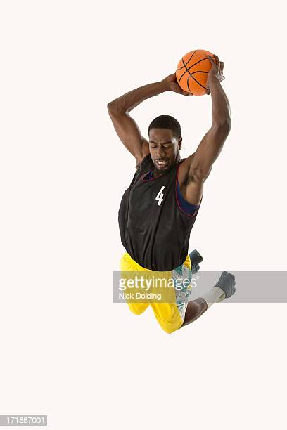 Flying Basketball Player 14
