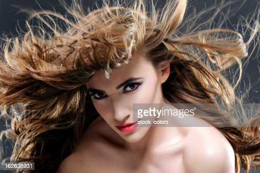flying beauty : Stock Photo