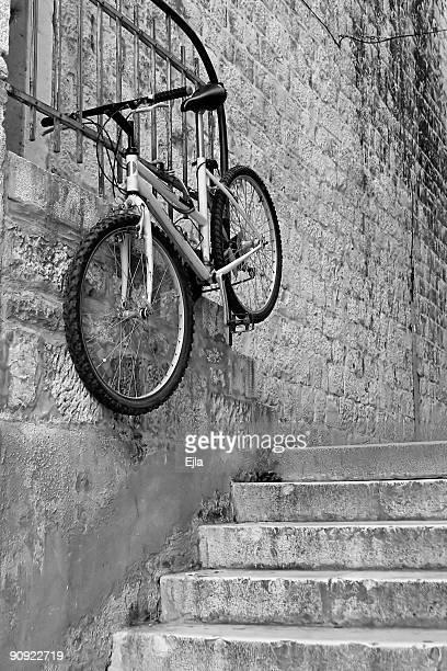 Flying bicicleta