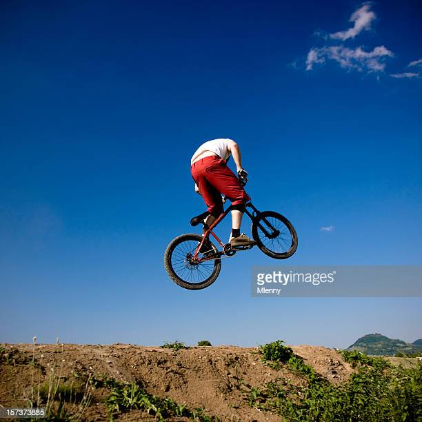 Flying Bike Dirt Jumping