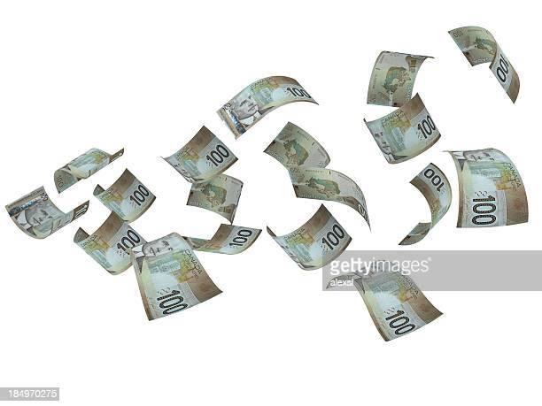 Flying Canadian Dollars
