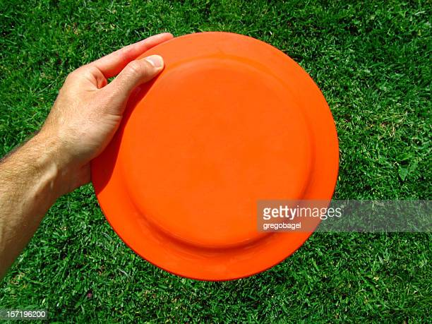Fliegende frisbee