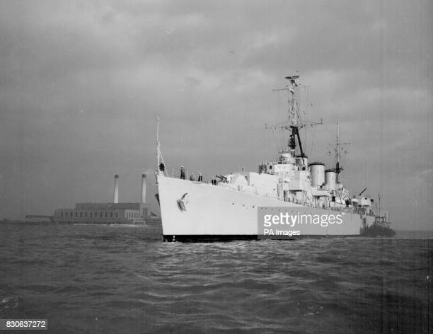 Flying his flag in the fast minelayer HMS Apollo Admiral Sir John Eccles Commander in Chief of the Home Fleet and NATO naval Commander in Chief...