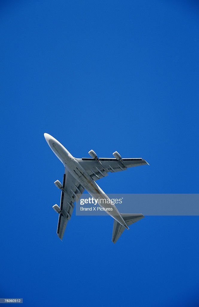 Flying jet : Stock Photo