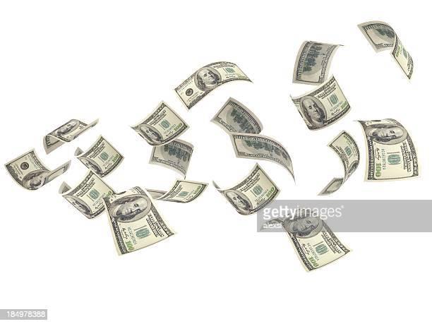 Flying dinero