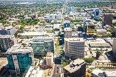 flying over san jose california