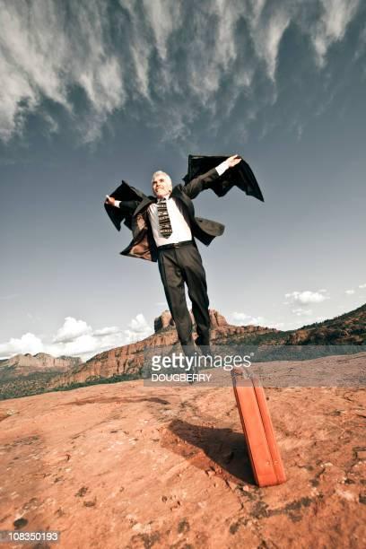 Flying salesman